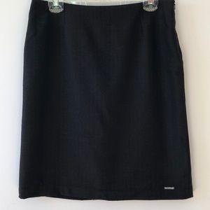 Ben Sherman brown skirt with subtle pin stripes